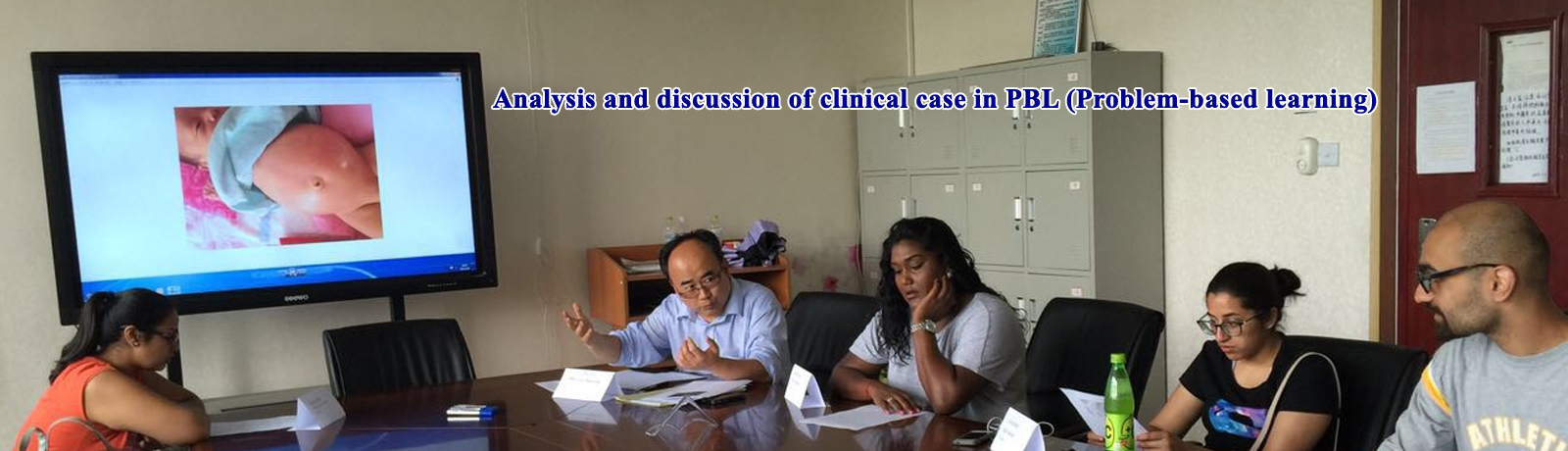 Analysis and discussion of clinical case in PBL (Problem-based learning)